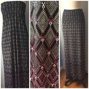White House Black Market Convertible Maxi Skirt